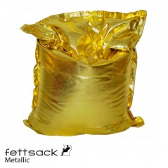 Replacement Cover Fettsack Metallic - Gold