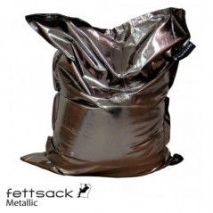 Replacement Cover Fettsack Metallic - Platinum